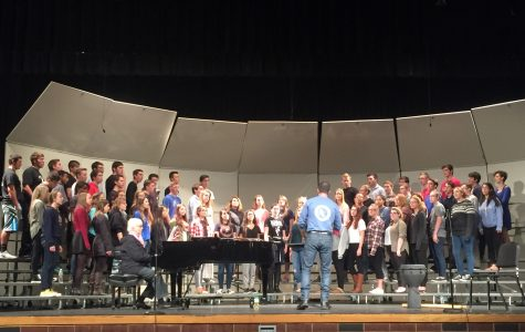 Liberty choirs' first performance of year