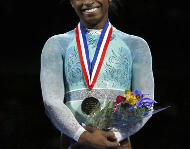 Simone Biles Sweeps U.S. Championships for Fifth Title