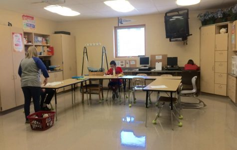 A look into the special needs classroom at OLHS