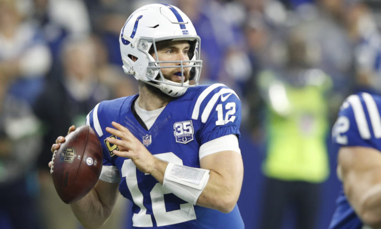Colts%27+QB+Andrew+Luck.+By+retiring+Saturday+Luck+hurt+the+Colts%27+chances+at+getting+into+the+playoffs+and+sent+many+fans+into+an+uproar.
