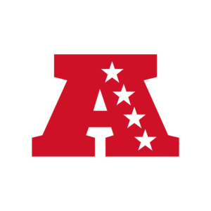 The official AFC logo for the 2019-2020 season. Many fans are excited to see which teams make it into the playoffs from this conference.