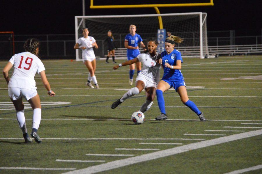 Girls varsity soccer vs. Westerville North