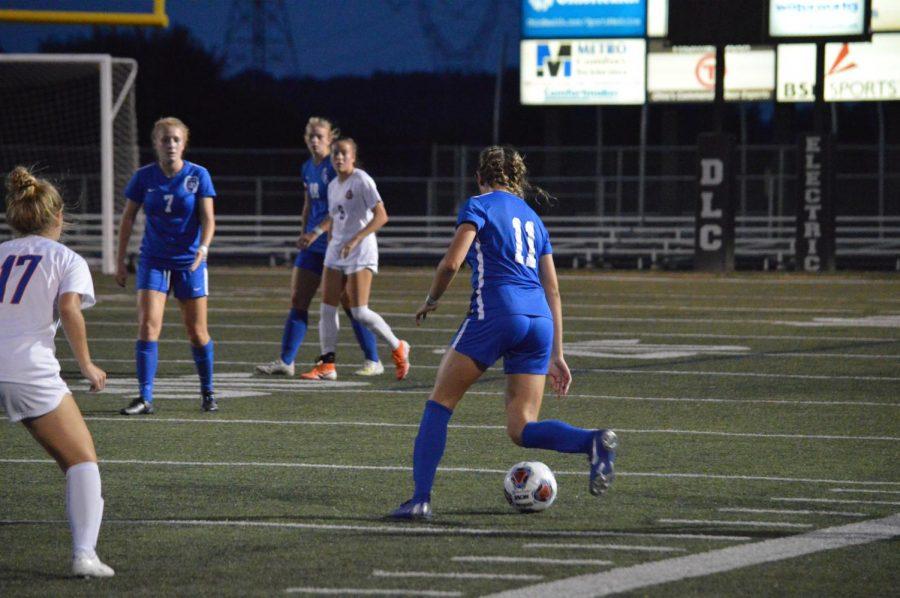 OLHS varsity girls soccer vs OOHS