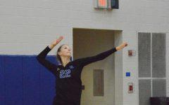 Girls varsity volleyball vs. Olentangy High School: Senior Night