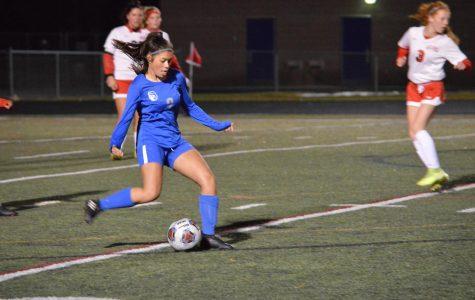 Girls varsity soccer vs. Marion Harding