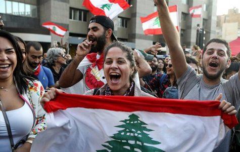 Lebanon protests surge on