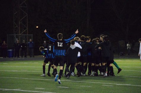 Boys varsity soccer State Semifinals vs. Lakota East
