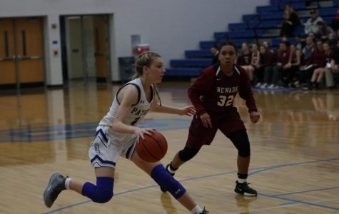 Girls varsity basketball vs. Newark High School
