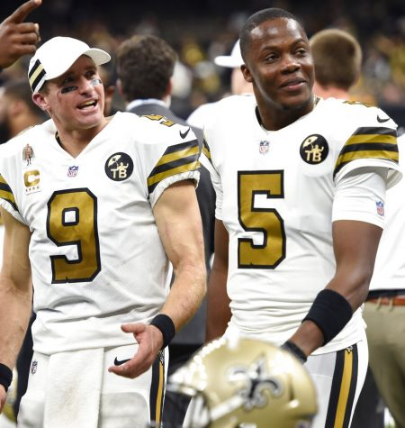 Where will Drew Brees (left) and Teddy Bridgewater (right) end up for the 2020 season?