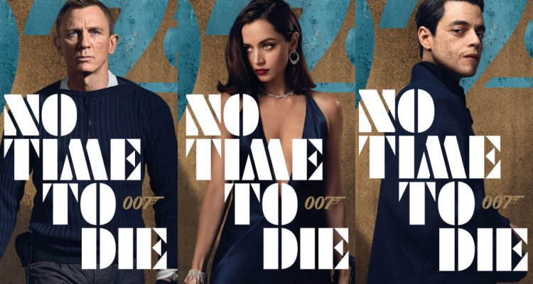 Character posters for the upcoming James Bond film,