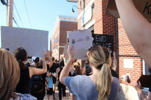 Powell's Peaceful BLM Protest Exemplifies the Necessity of Unity in Community