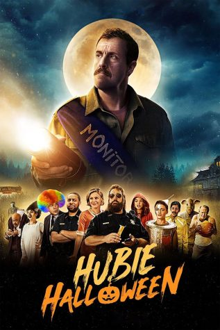 "The poster for ""Hubie Halloween"" Copyright to: Netflix, Happy Madison"