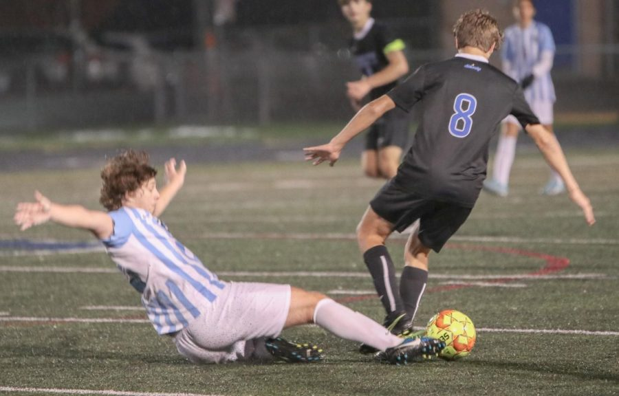 Boys varsity soccer vs. Hilliard Darby High School