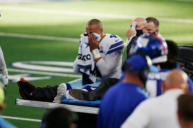 Dak Prescott Out for the Season with Ankle Injury