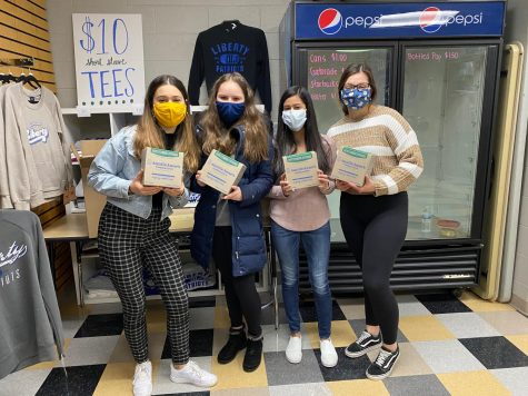 Liberty seniors give back to community in incredible way